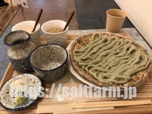 【札幌市】抹茶CAFE&SWEETS RIQ(リキュウ)をレビュー!へぎそばとチーズラテが美味でした♪